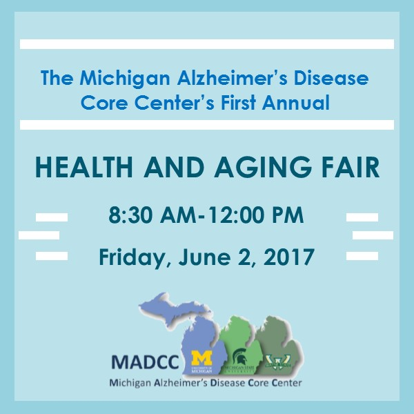MADCC Health and Aging Fair